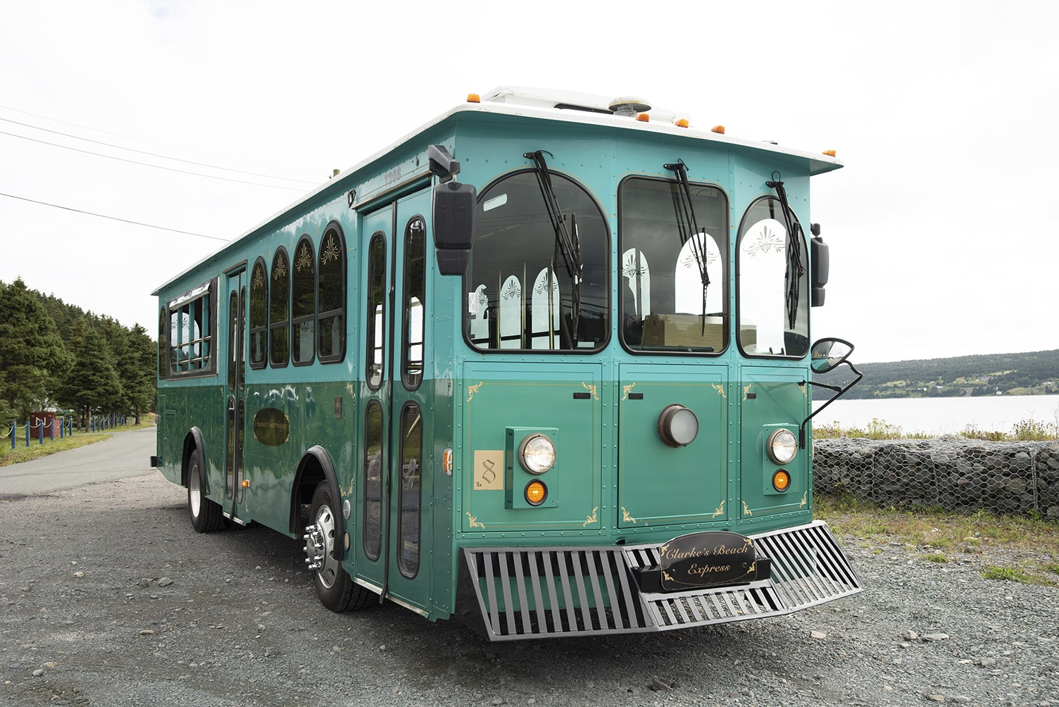 Classic Carriage Trolley, Vintage Newfoundland Tours, St. John's trolley bus