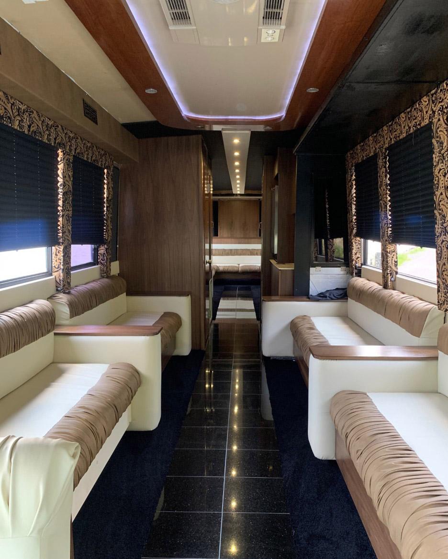 Classic Carriage VIP Coach Bus, St. Johns coach bus, St. Johns bus tours, NL