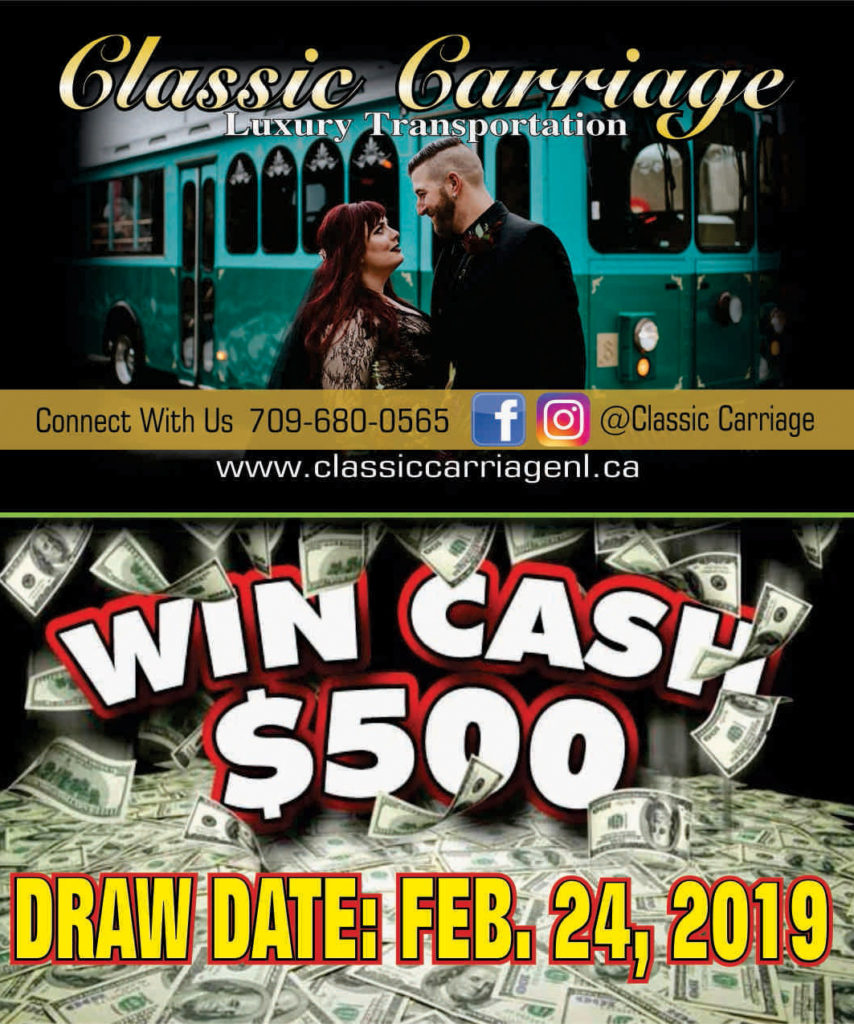 Classic Carriage - Cash Giveaway! | Wedding Transportation, St